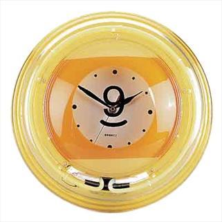Часы неон Девятка