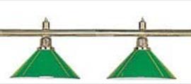 Светильник на 6 плафонов зеленый
