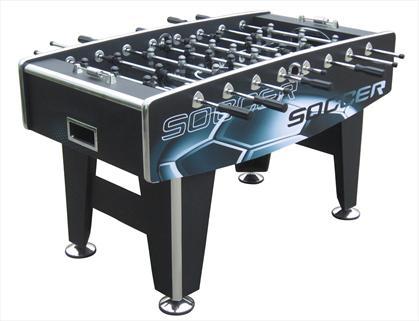"""Игровой стол - футбол """"Real"""" (118x67, черный)"""