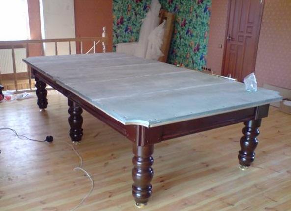 бильярдного стола