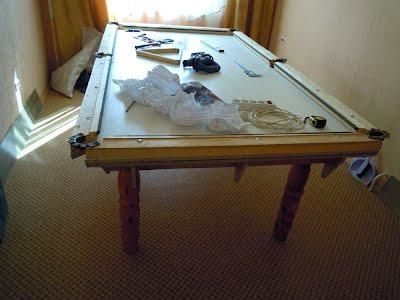 Из чего сделан стол бильярдный